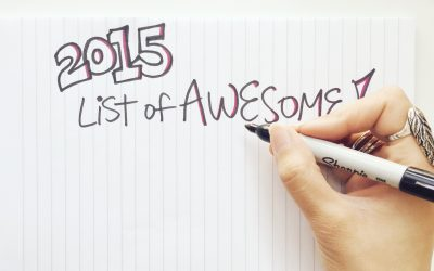 2015 List of Awesome
